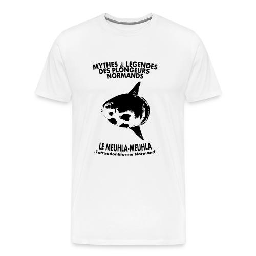 Meuhla-Meuhla-XXXL-Imp Flex+logo dos - T-shirt Premium Homme