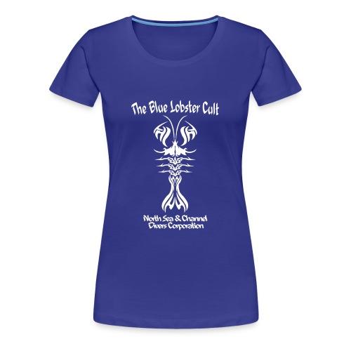 Blue Lobster Cult - Imp.Flex+Logo Dos - T-shirt Premium Femme