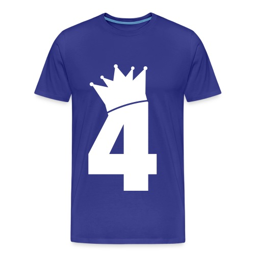 The King is fourth - T-shirt Premium Homme