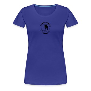 Girly sf Original Invert - Women's Premium T-Shirt