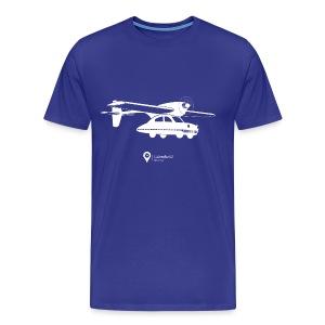 Flying car! - Men's Premium T-Shirt
