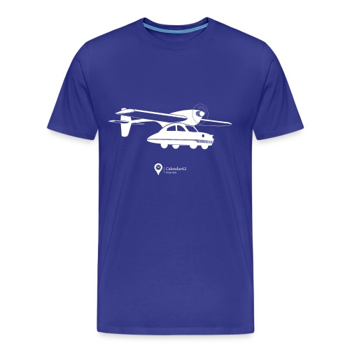 Flying car! - Men's Premium T-Shirt