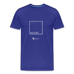 Color blue! - Men's Premium T-Shirt