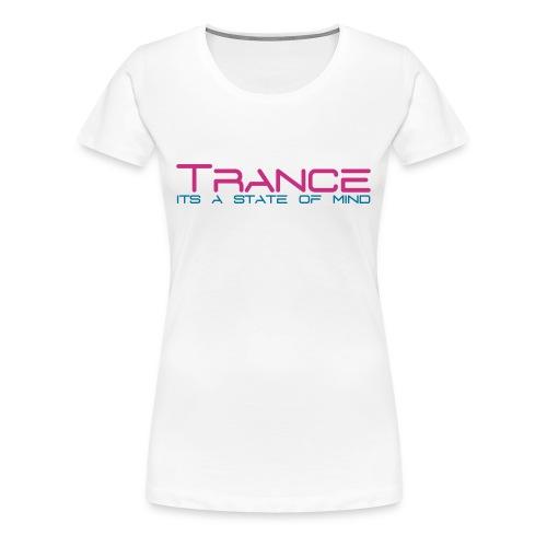 Trance - Vrouwen Premium T-shirt