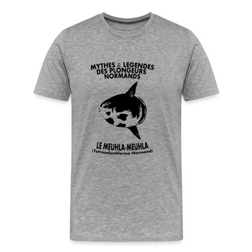 Meuhla-Meuhla-Hom-Imp Flex+logo dos - T-shirt Premium Homme