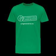 T-skjorter ~ Premium T-skjorte for menn ~ En verden uten landegrenser (herre)