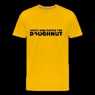 T-Shirts ~ Men's Premium T-Shirt ~ Raffle Yer Doughnut