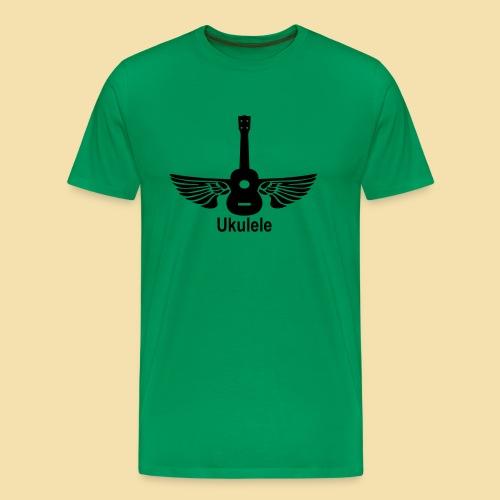 ShirtFlyingUkulele - Männer Premium T-Shirt