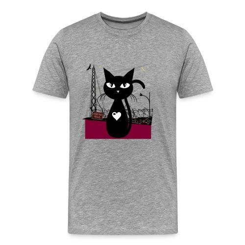 Street cat Herren - Männer Premium T-Shirt