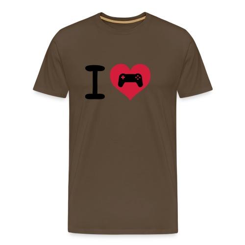 i LOVE gaming  - Men's Premium T-Shirt