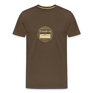 Label One brown - Männer Premium T-Shirt