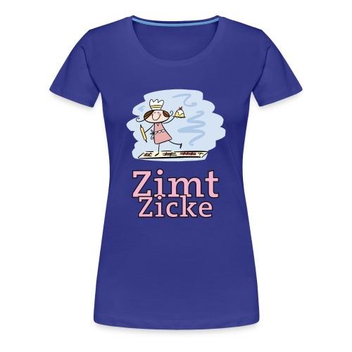 Zimt-Zicke - Frauen Premium T-Shirt