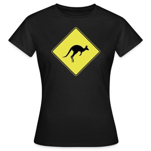 Panneau Kangourou - T-shirt Femme