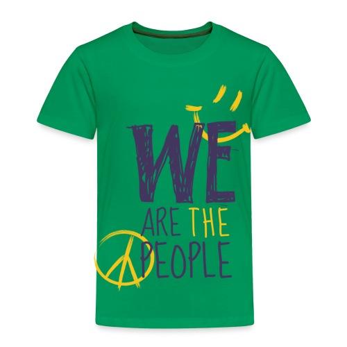 Peace Smiley dark - Kids - Kinder Premium T-Shirt