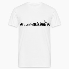 Motorcycle Evolution Chopper  T-Shirts