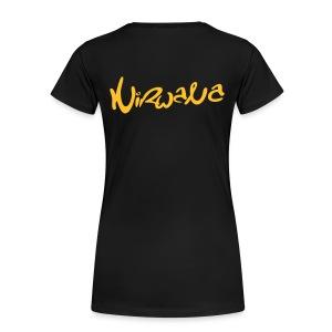Nirwana Oversize Shirt - Vrouw - Vrouwen Premium T-shirt