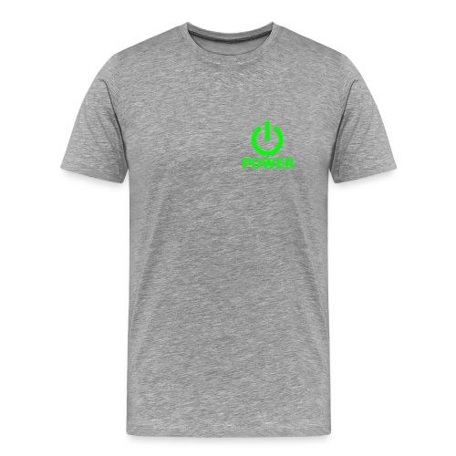 power muscle team shirt - Mannen Premium T-shirt