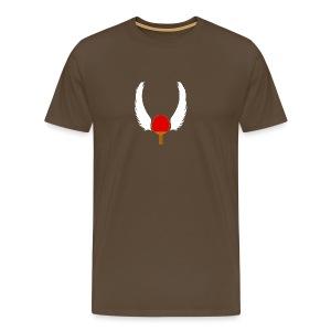 Ping-Pong Legend (heren) - Mannen Premium T-shirt