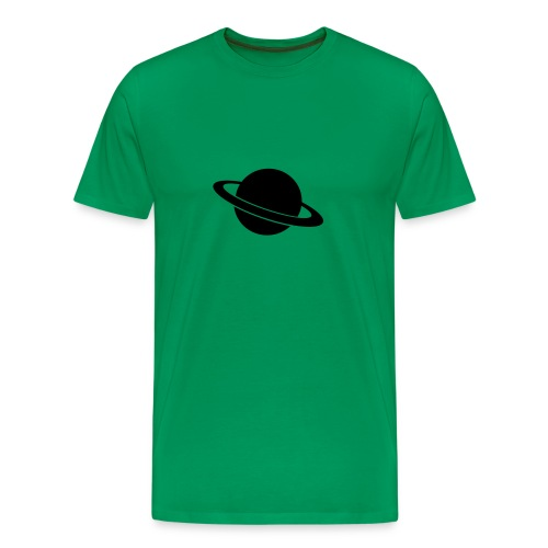 planet saturn - Men's Premium T-Shirt