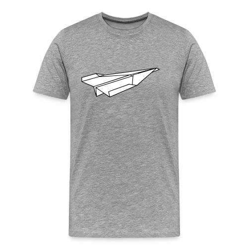 Papierflieger - Männer Premium T-Shirt