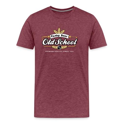 [OldSchool Beer] westside - Men's Premium T-Shirt