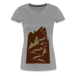 Trails! II (Frauen) - Frauen Premium T-Shirt
