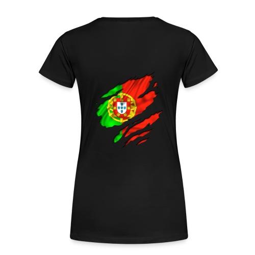 Tee Shirt Femme Basique Portugal - T-shirt Premium Femme
