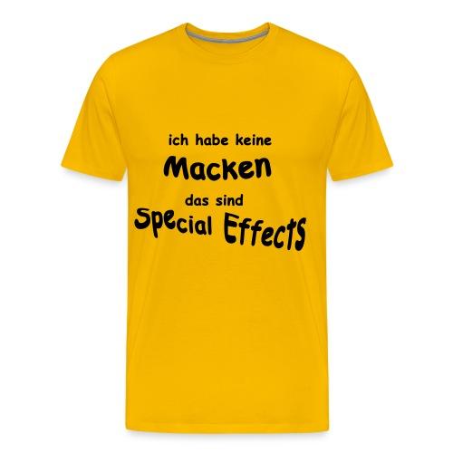 Keine Macken - Männer Premium T-Shirt
