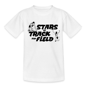 Stars of Track and Field - Teenage T-shirt
