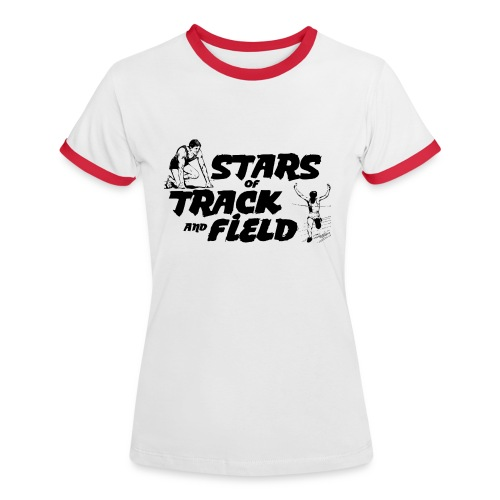 Stars of Track and Field - Women's Ringer T-Shirt