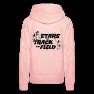 Hoodies & Sweatshirts ~ Women's Premium Hoodie ~ Stars of Track and Field