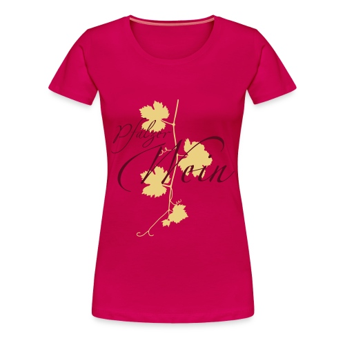 weinrebe - Frauen Premium T-Shirt
