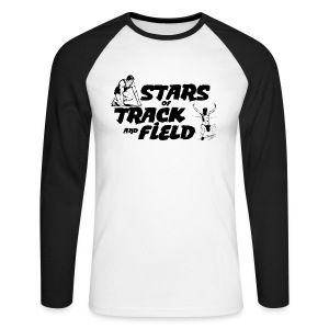 Stars of Track and Field - Men's Long Sleeve Baseball T-Shirt