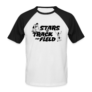 T-Shirts ~ Men's Baseball T-Shirt ~ Stars of Track and Field