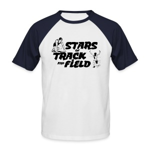 Stars of Track and Field - Men's Baseball T-Shirt