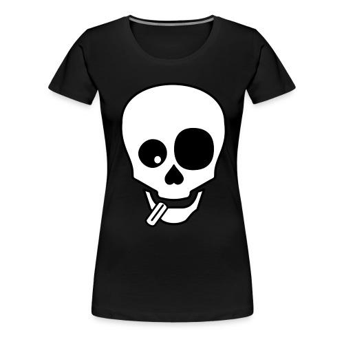 Mongo Skull Girlie - Frauen Premium T-Shirt