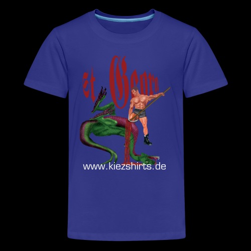 St. Georg besiegt den Drachen - Teenager Premium T-Shirt