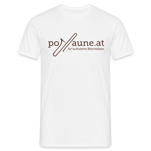 posaune.at Fanshirt - Männer T-Shirt
