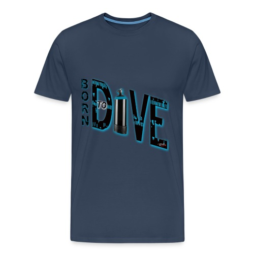 Born to dive - Männer Premium T-Shirt