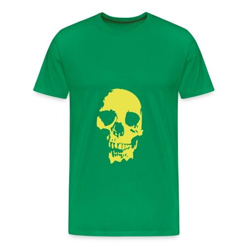 Skull T-Shirt - Premium-T-shirt herr
