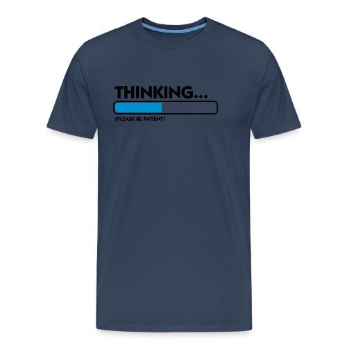 Thinking - Mannen Premium T-shirt