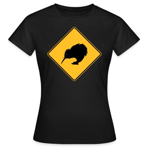 Kiwi en danger ! - T-shirt Femme