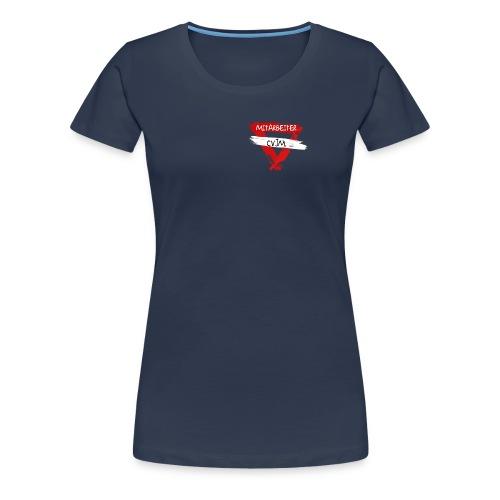 cvjm mitarbeiter g - Frauen Premium T-Shirt