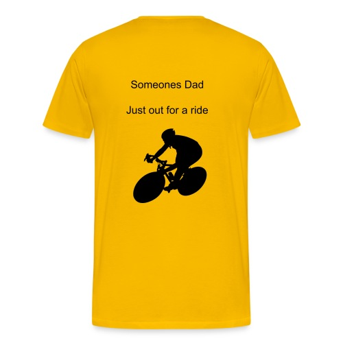 Someones Dad just out for a ride - Men's Premium T-Shirt