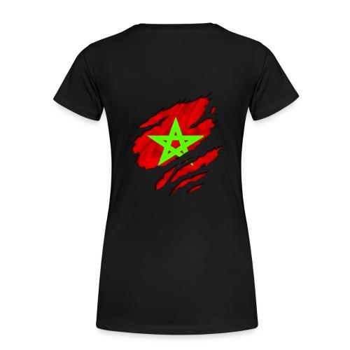 Tee Shirt Femme Basique Maroc - T-shirt Premium Femme