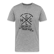 T-Shirts ~ Men's Premium T-Shirt ~ SLHC crest t-shirt grey