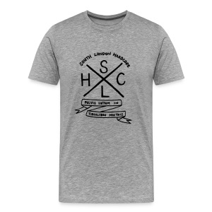 SLHC crest t-shirt grey - Men's Premium T-Shirt