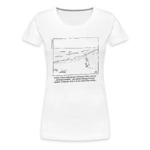 Kasia i morze - Koszulka damska Premium