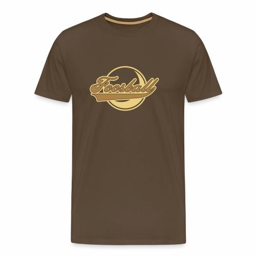 Foosball retro - Männer Premium T-Shirt