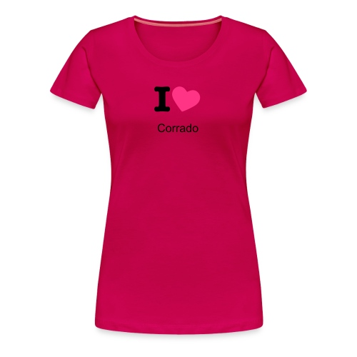 I Love Corrado - Women's Premium T-Shirt